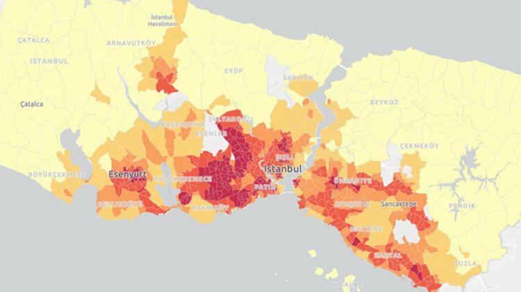 İBB açıkladı! İşte koronavirüsün en yoğun bulaştığı 40 mahalle - Sayfa 3