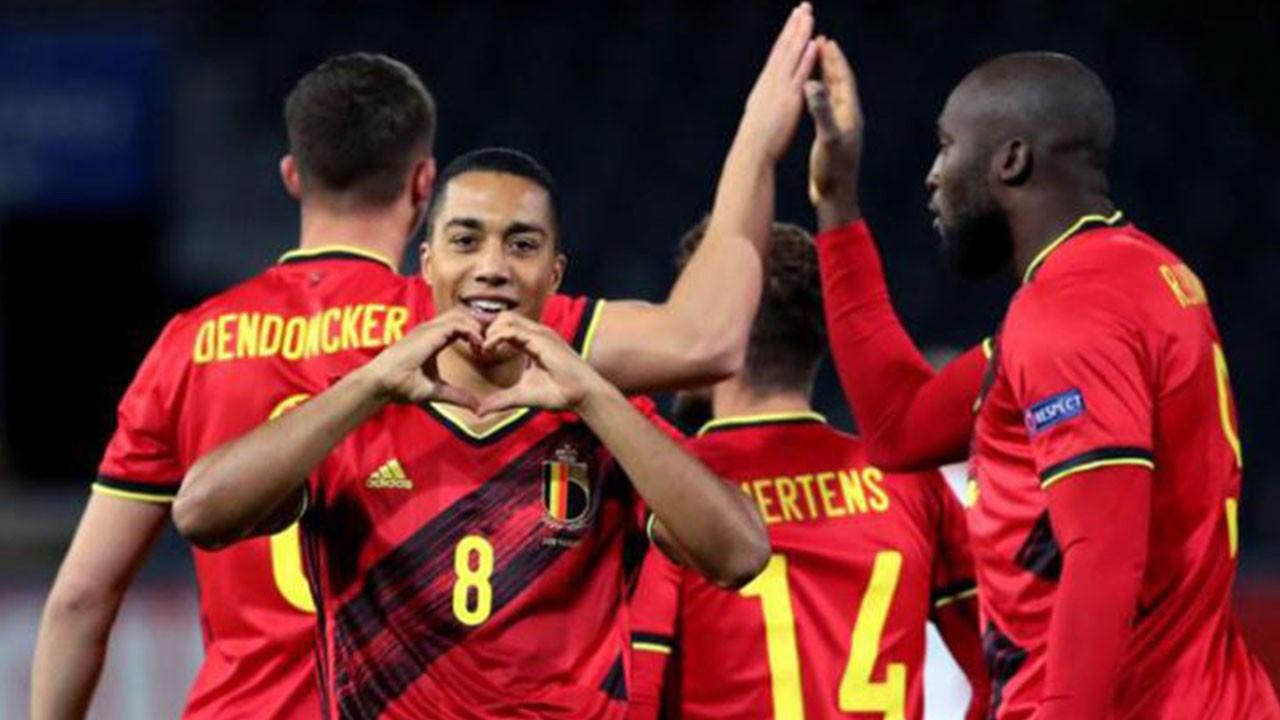 Belçika'dan 4 gollü galibiyet!