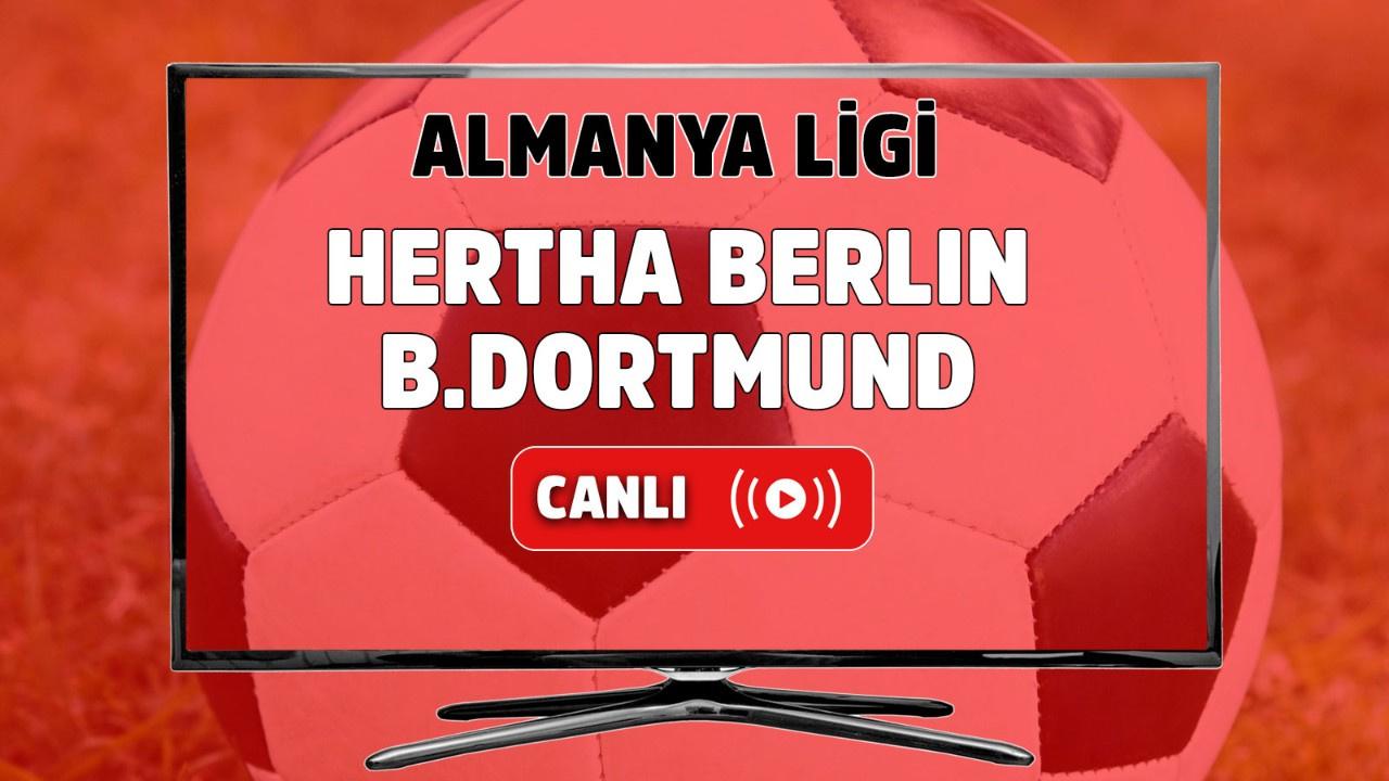 Hertha Berlin – B. Dortmund Canlı