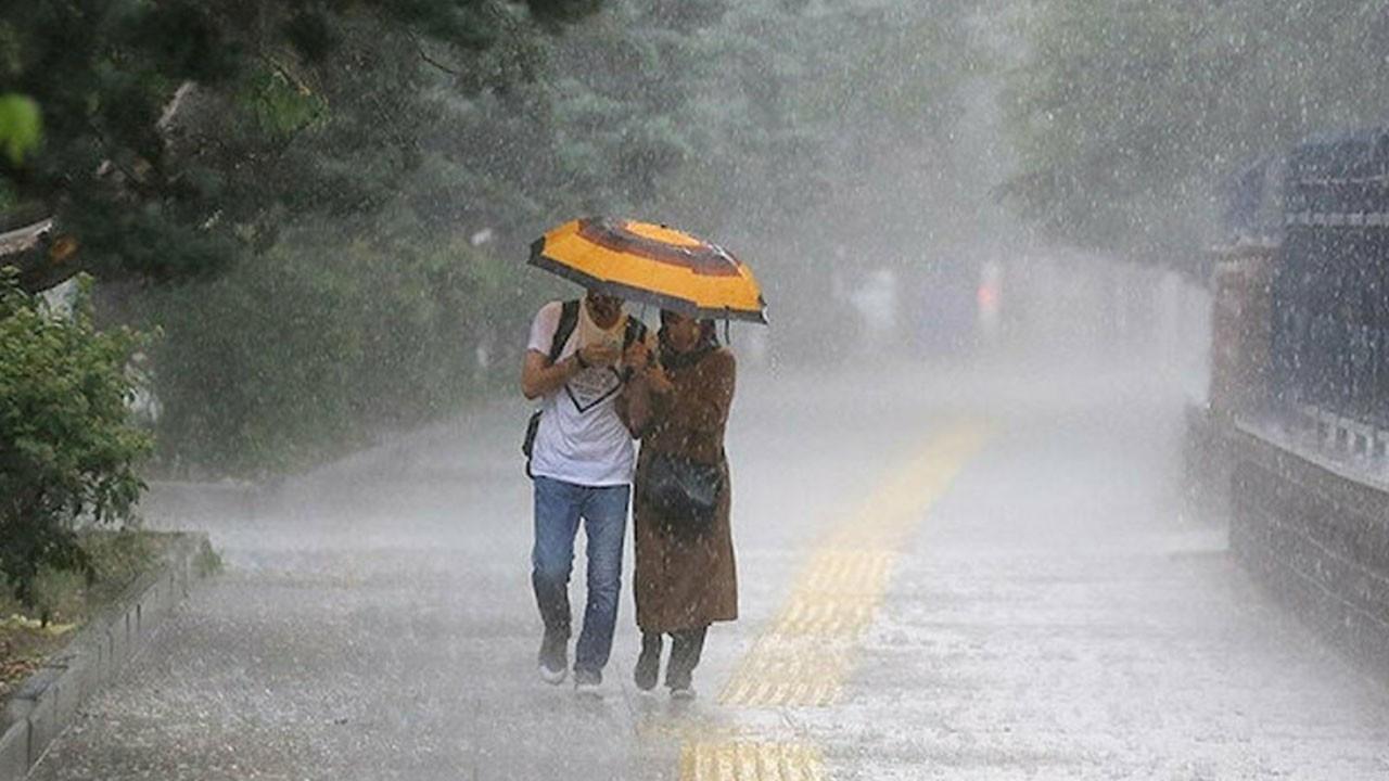 Meteoroloji'den kuvvetli yağış ve rüzgar uyarısı!