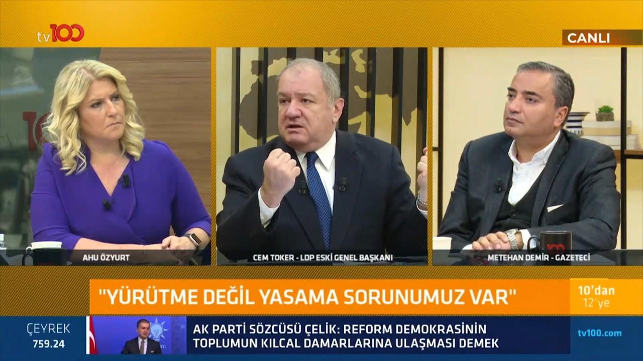 ''Türkiye'nin sorunu yürütme değil, yasamadır''