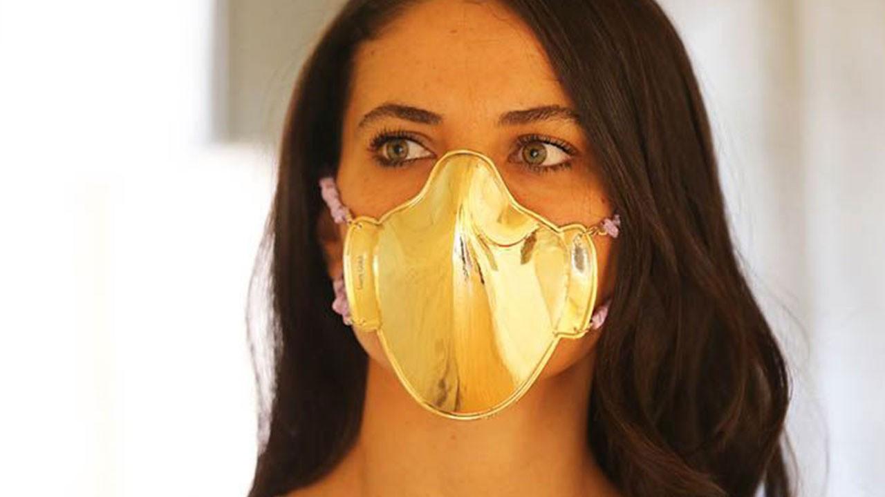 18 ayar altın fiyatında... Bu nasıl maske!