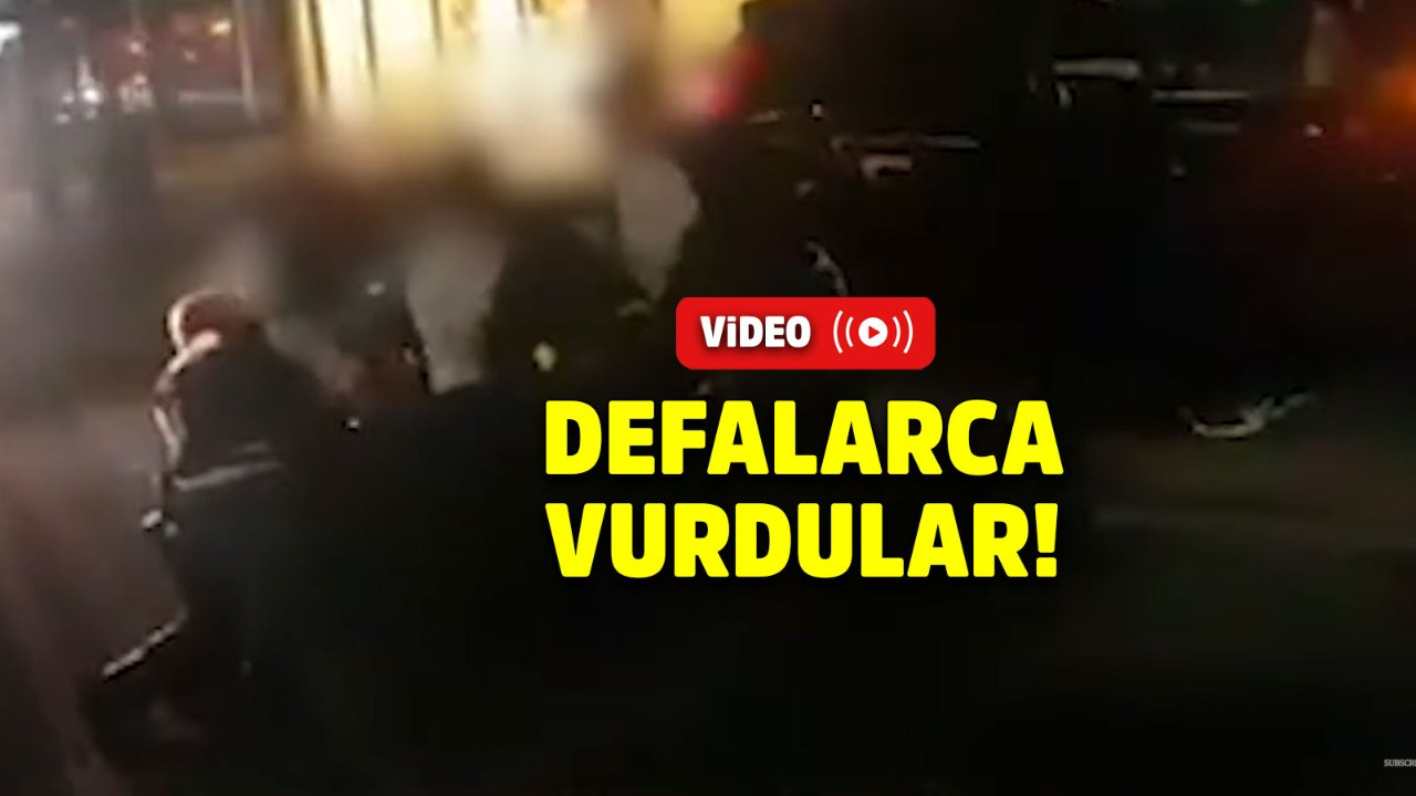 8 polis genç kadını linç etti!