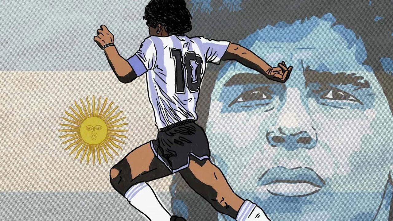 Ünlü isimlerden Maradona paylaşımları!