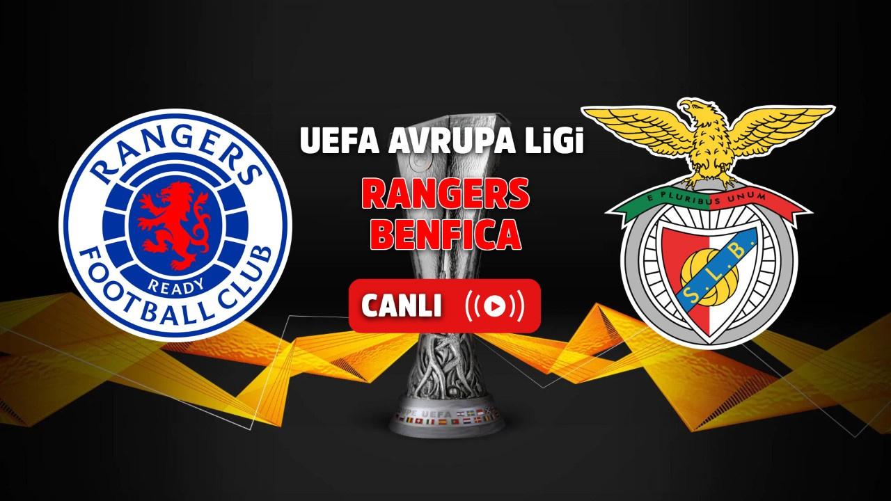 Rangers – Benfica Canlı