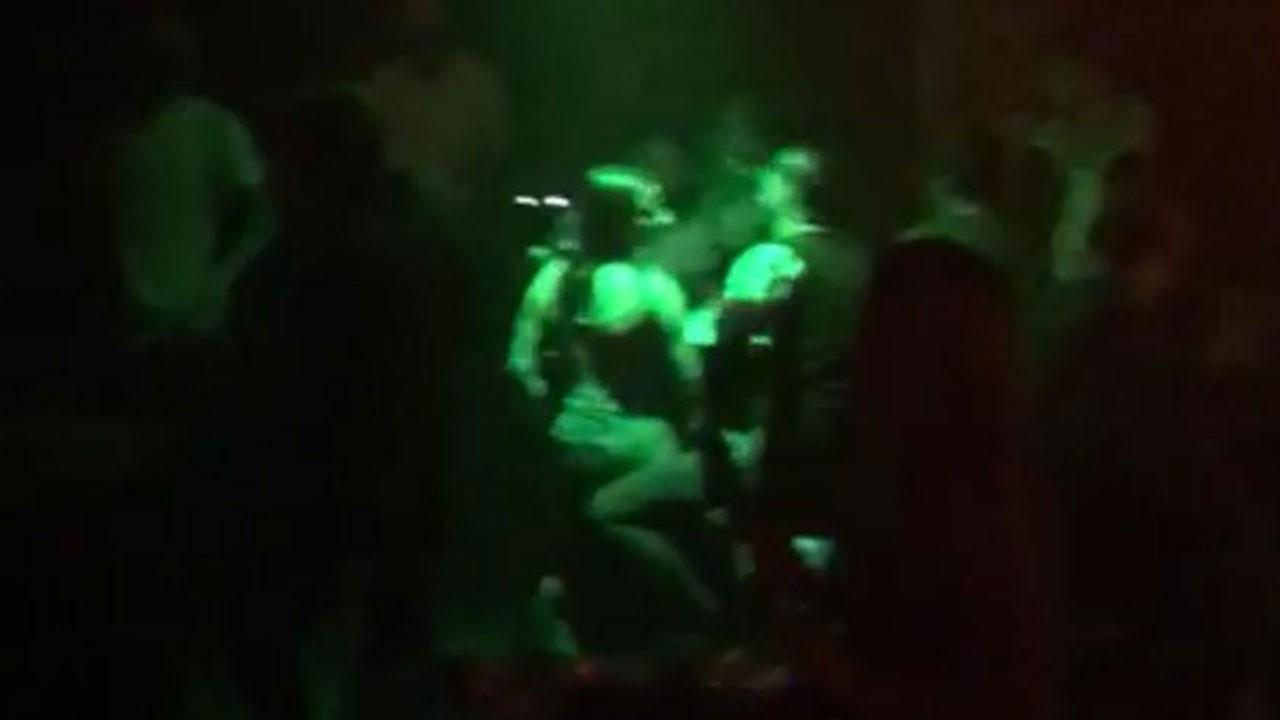 Gece kulübüne korona baskını