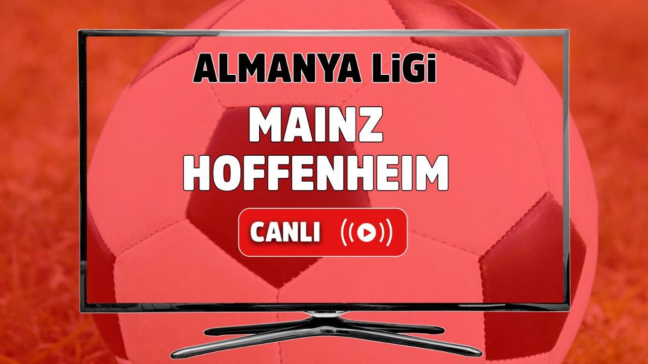 Mainz 05 – Hoffenheim Canlı