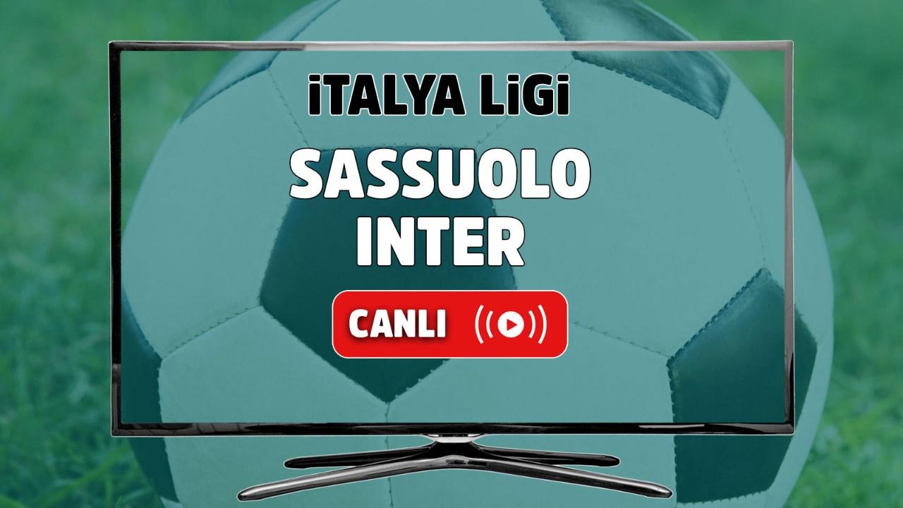 Sassuolo - Inter Canlı