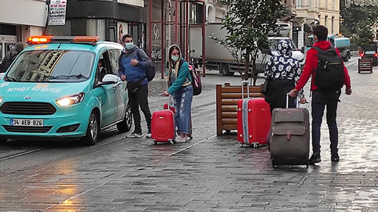 İstiklal Caddesi turistlere kaldı