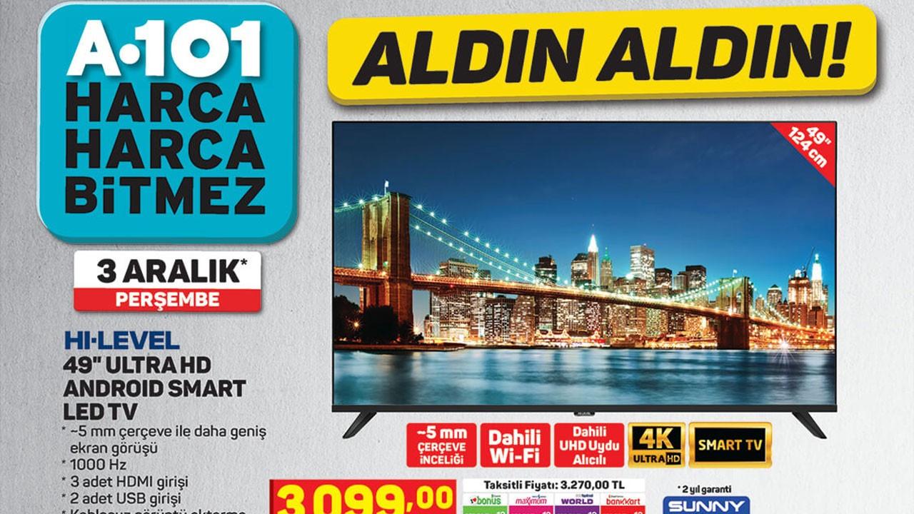 A101 3 Aralık 2020 Aktüel ürünler kataloğu!