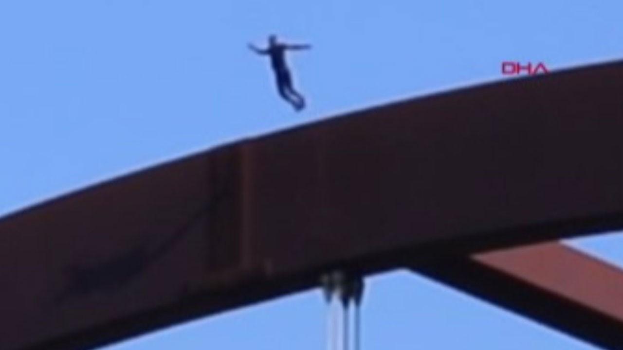 Nehre atlayan ABD'li YouTuber kafatasını kırdı