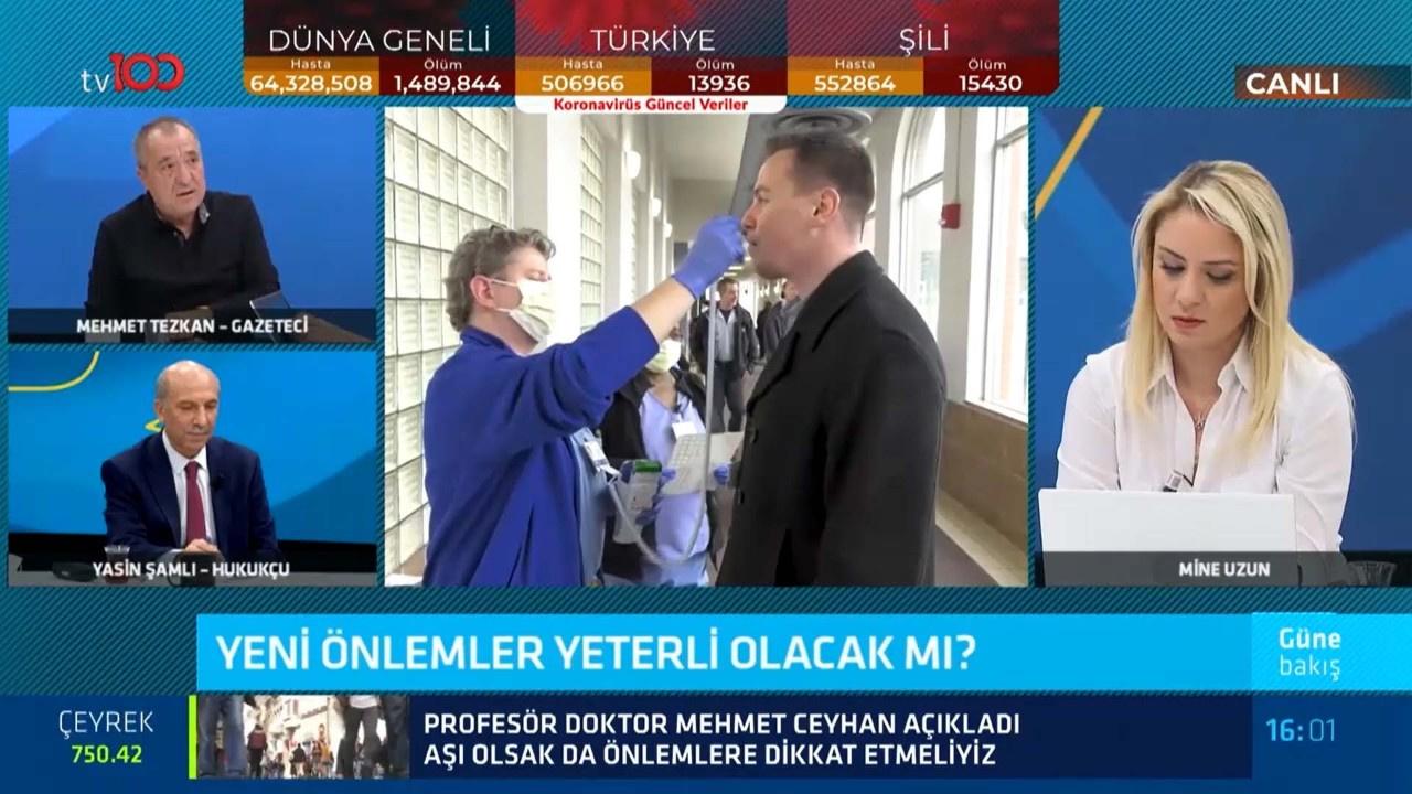 Tezkan: Türkiye 14 gün tam karantinaya giremez