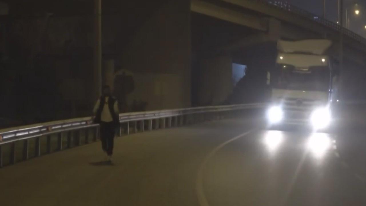 Alkol alıp, yola çıkarak trafiği tehlikeye düşürdü