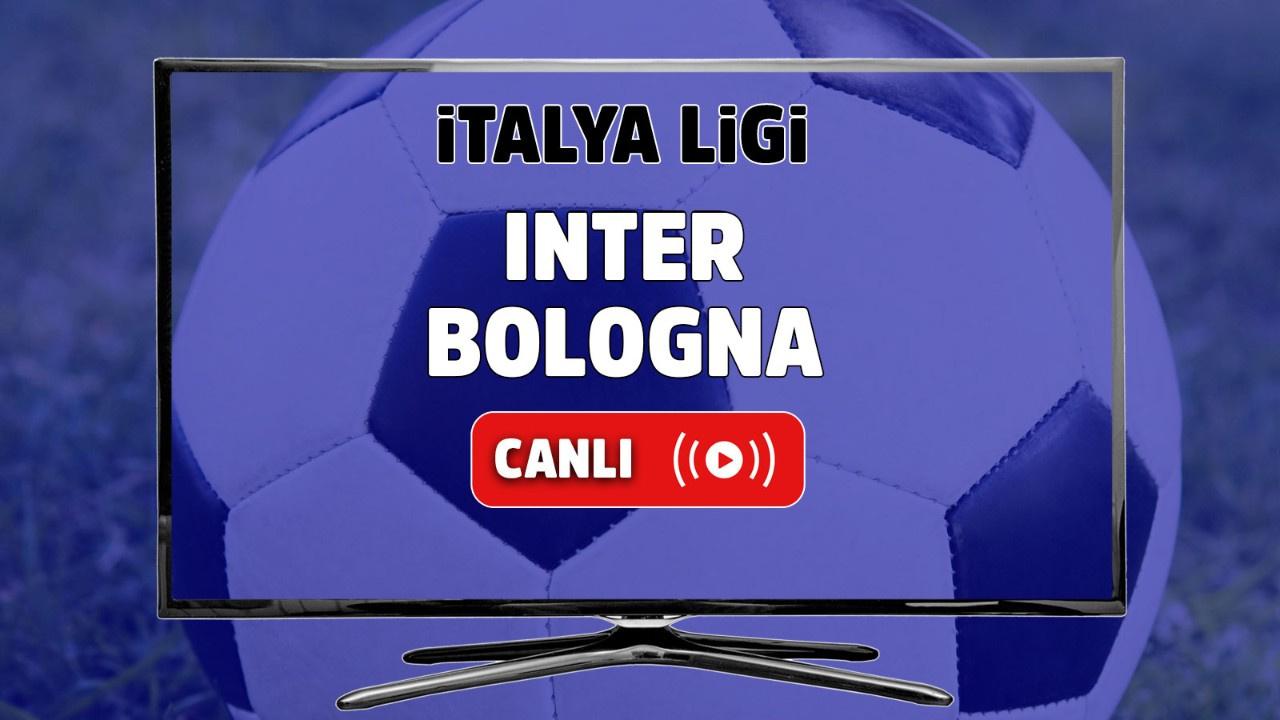 Inter - Bologna Canlı