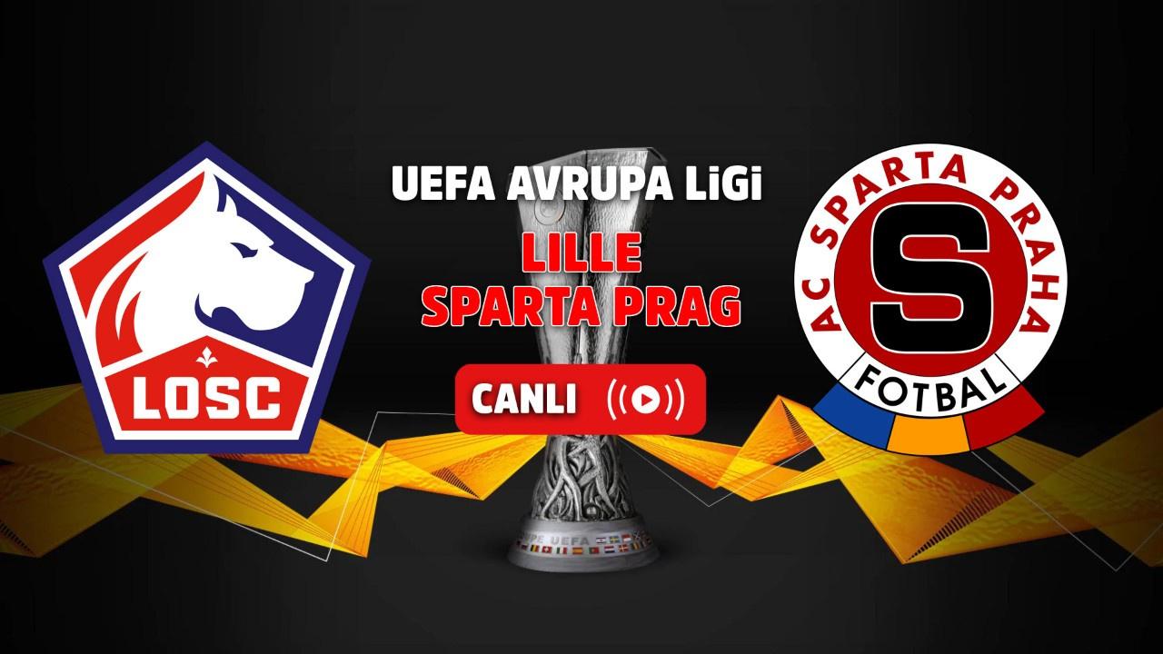 Lille – Sparta Prag Canlı