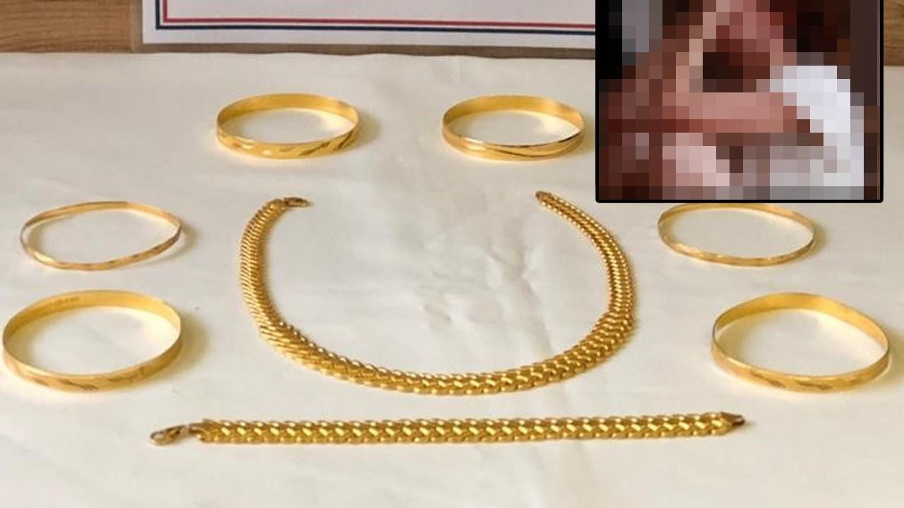 Altınları cinsel şantaj yüzden çalmış!