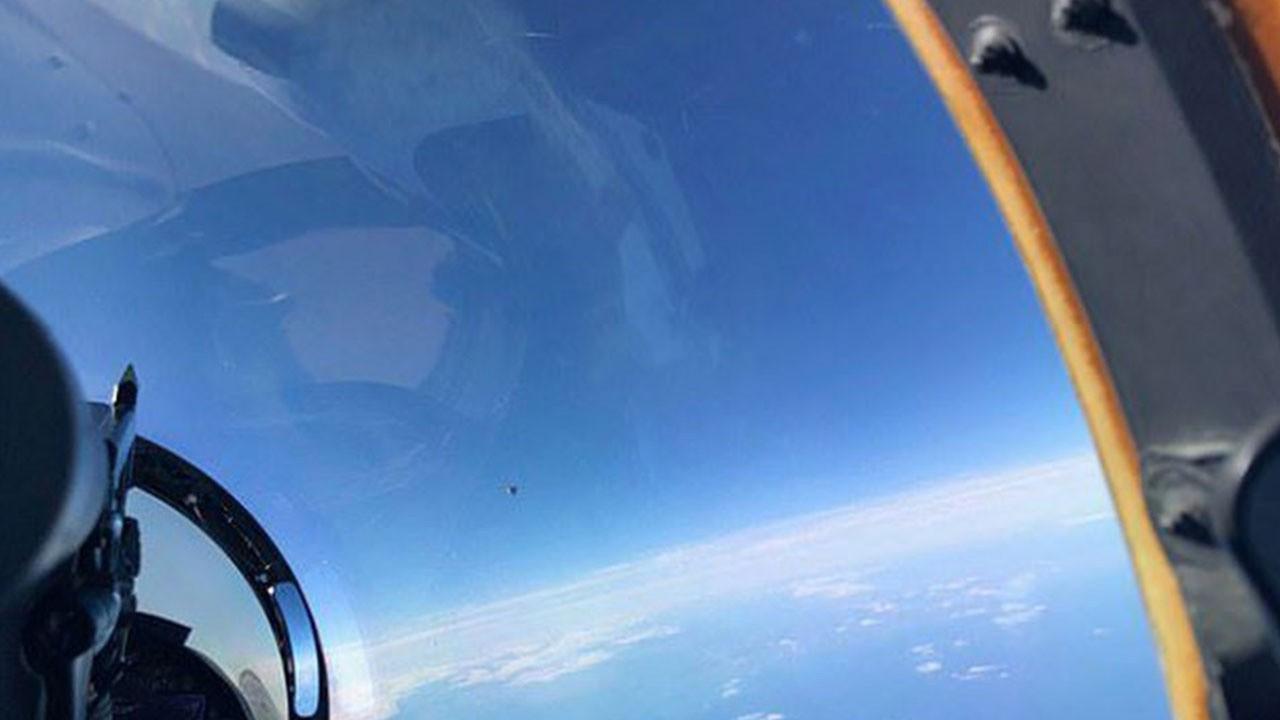Pentagon'dan 'UFO' raporu! Tanımlanamayan fotoğraf