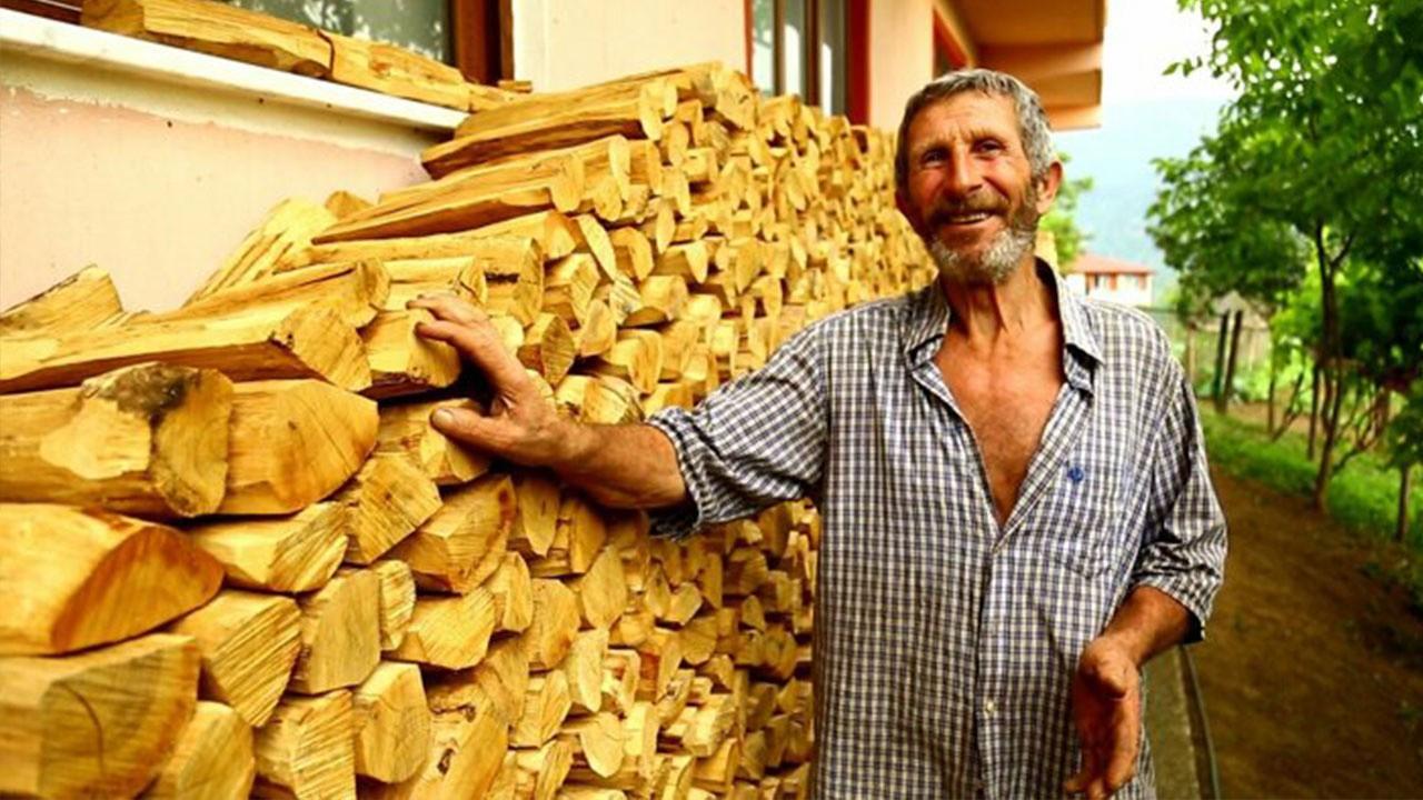 Odunlar için vasiyetini yazdı