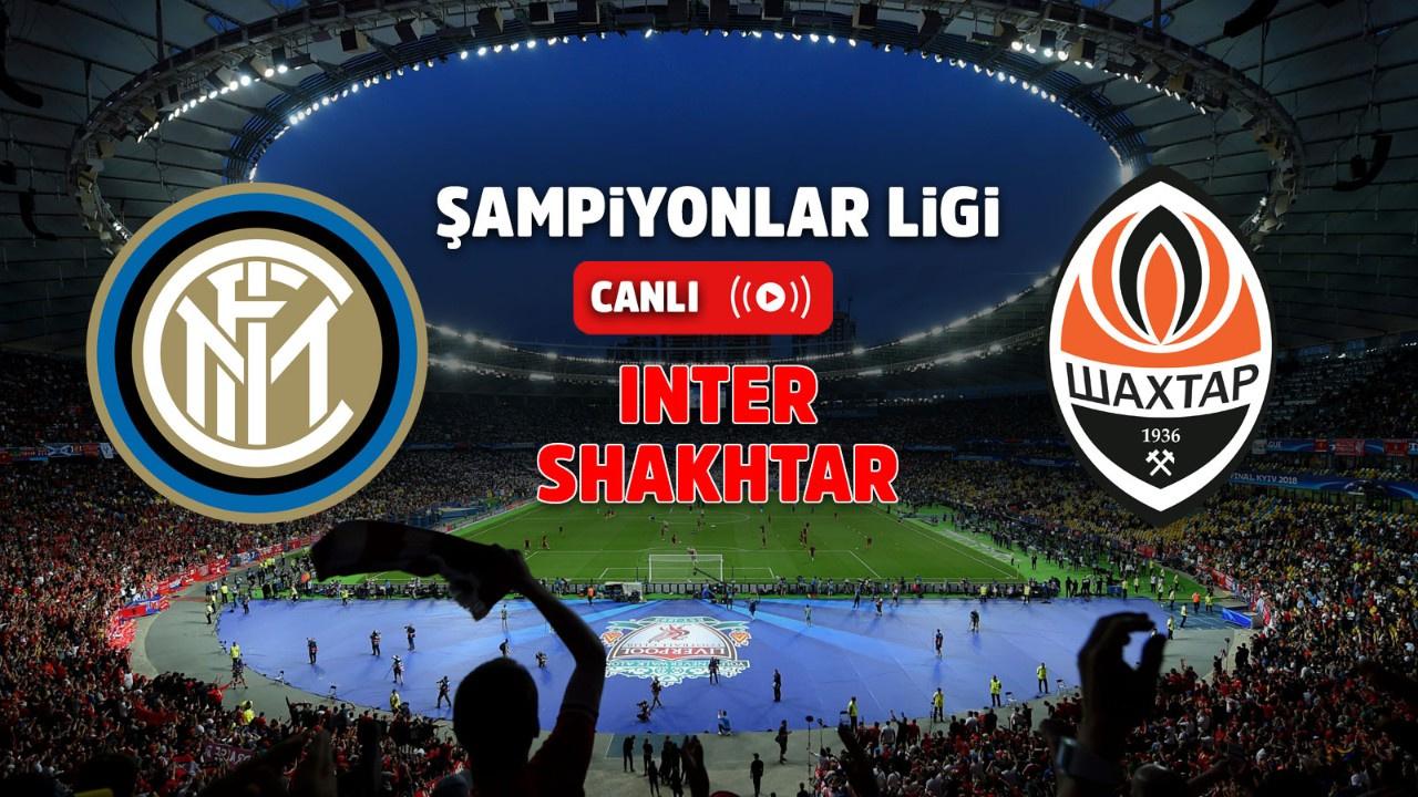 Inter – Shakhtar Canlı