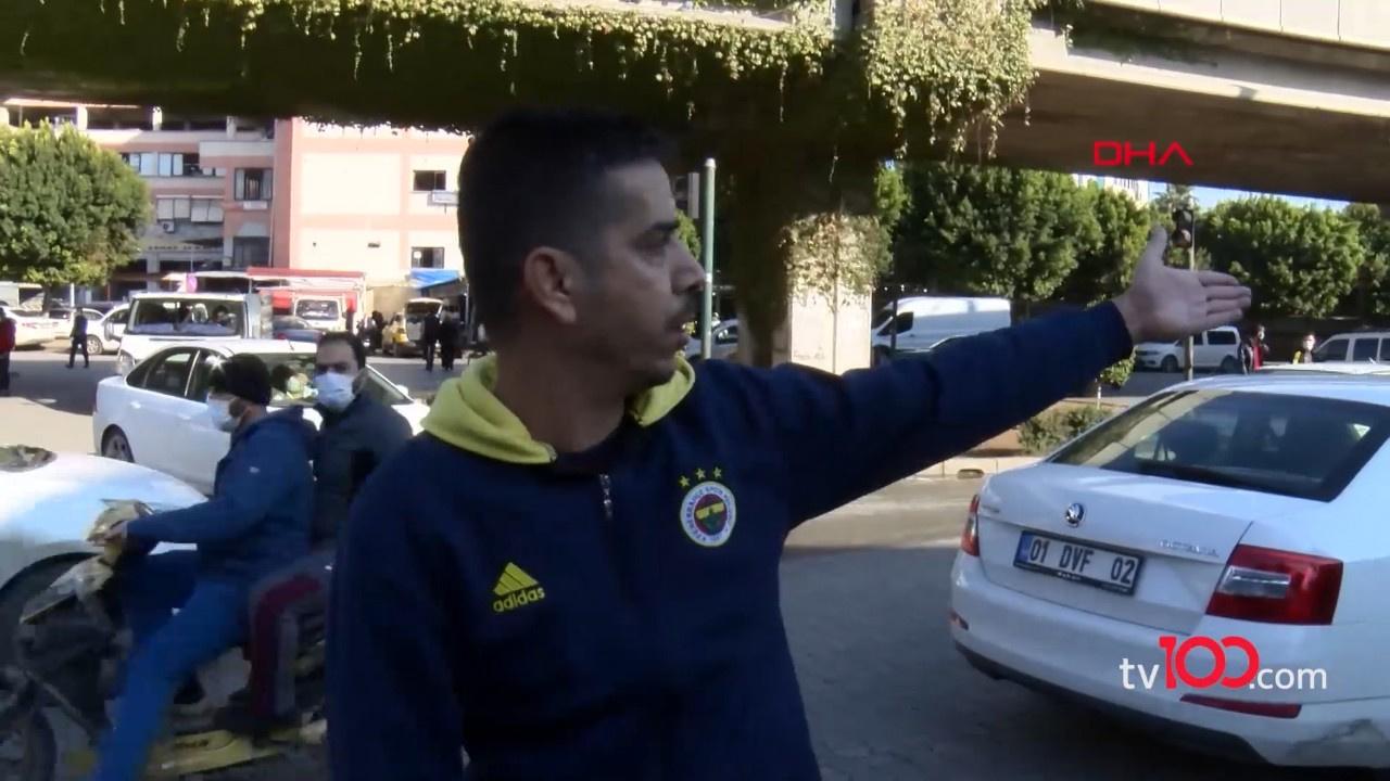 Adana'lı şoförün maske isyanı viral oldu!
