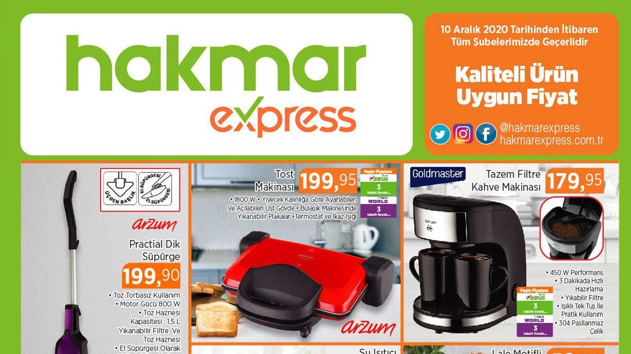 Hakmar Express 15 Aralık 2020 aktüel ürünler...
