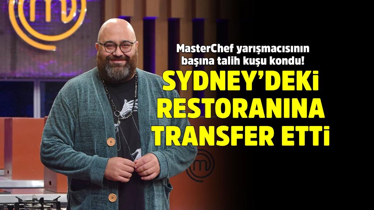 MasterChef Türkiye'den Avustralya'ya transfer!