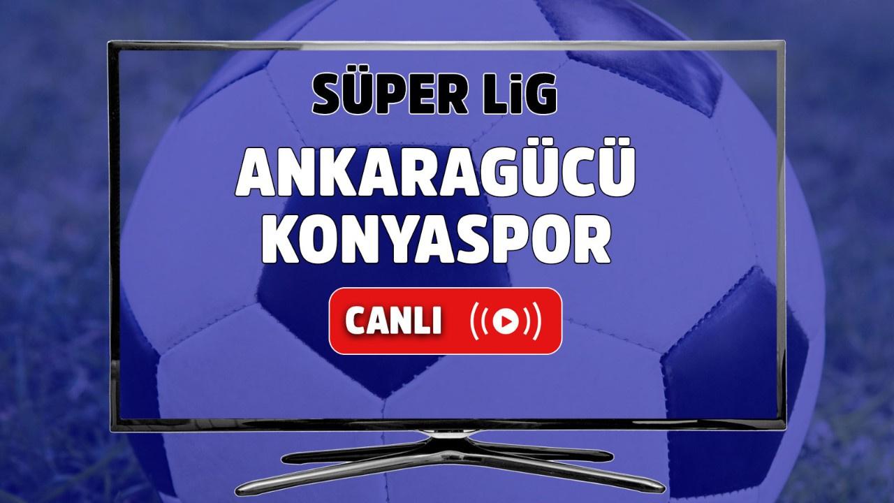 Ankaragücü – Konyaspor Canlı