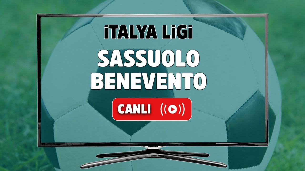 Sassuolo - Benevento Canlı