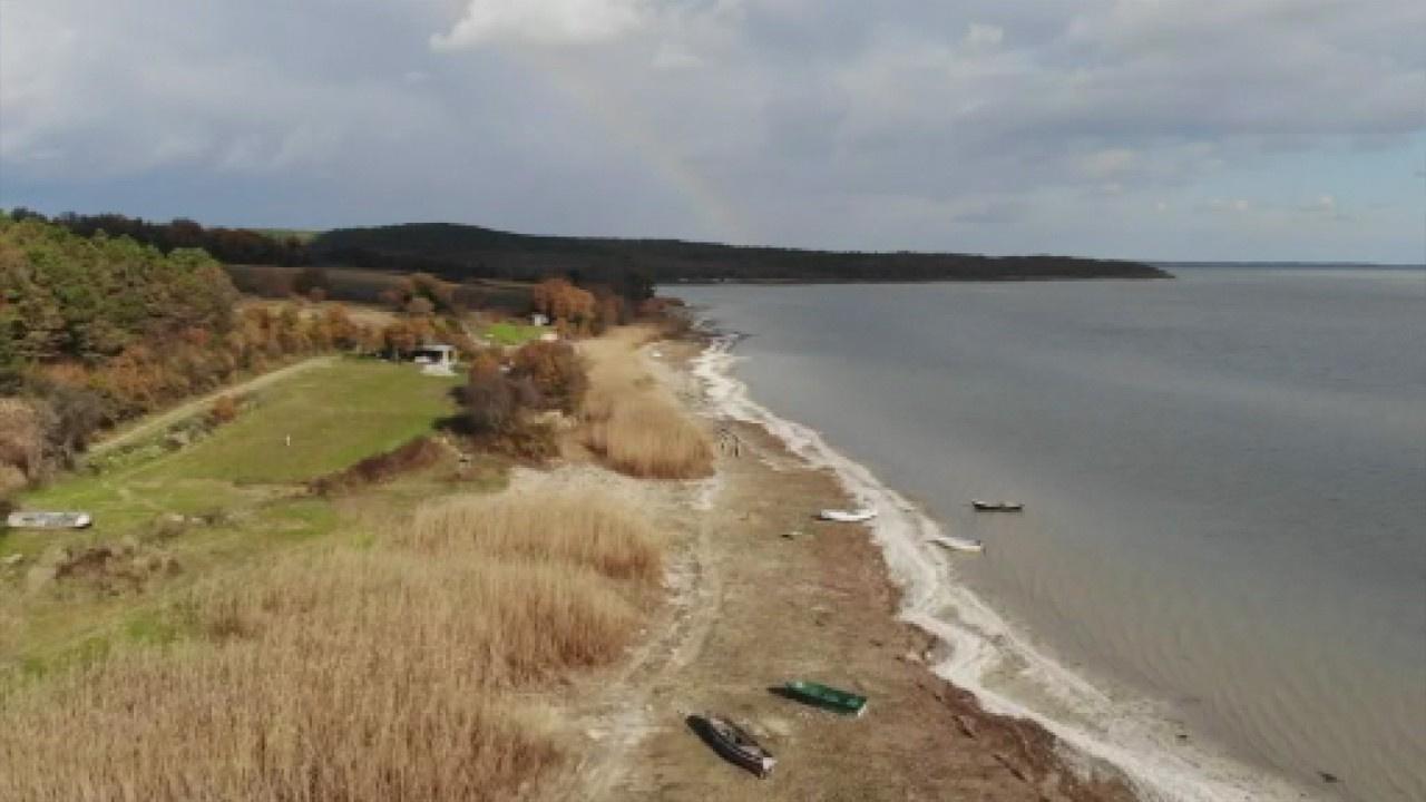 Önemli su kaynağı Terkos'ta korkutan görüntü