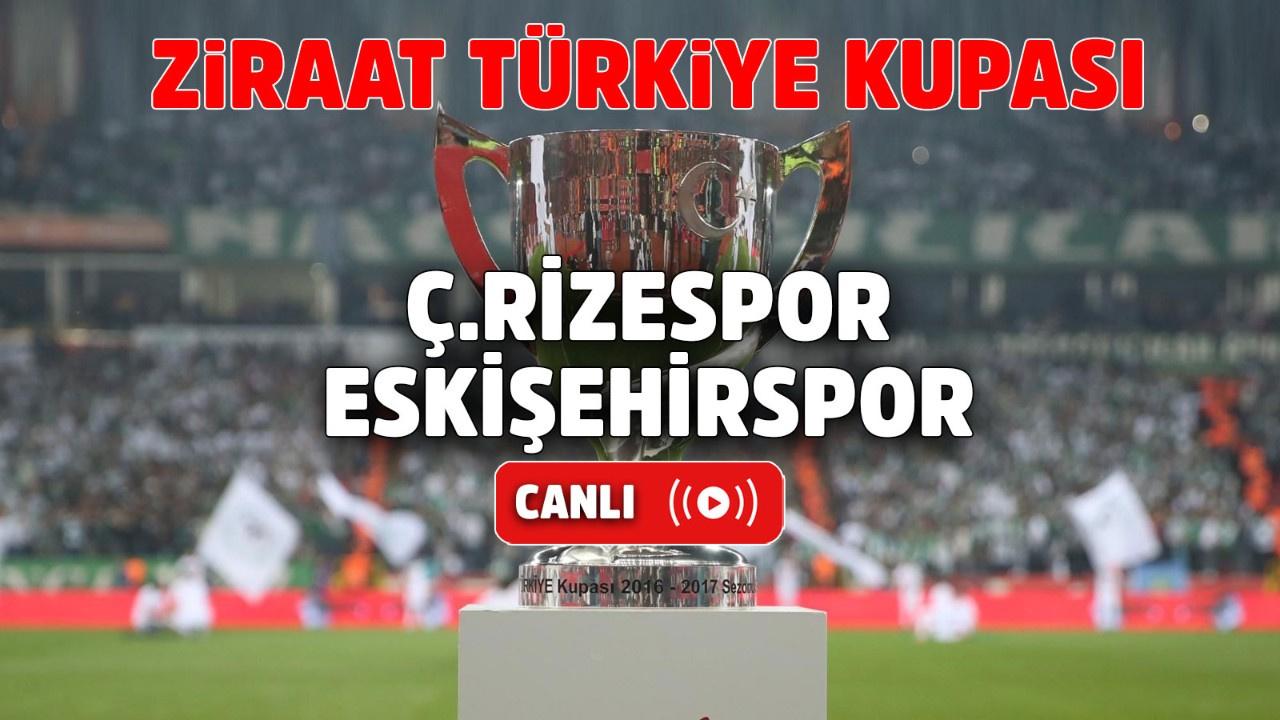 Çaykur Rizespor – Eskişehirspor Canlı