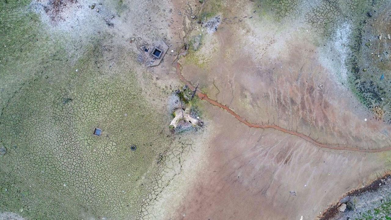 Baraj çekildi bu görüntü ortaya çıktı