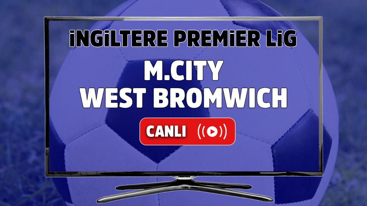 Manchester City – West Bromwich Canlı