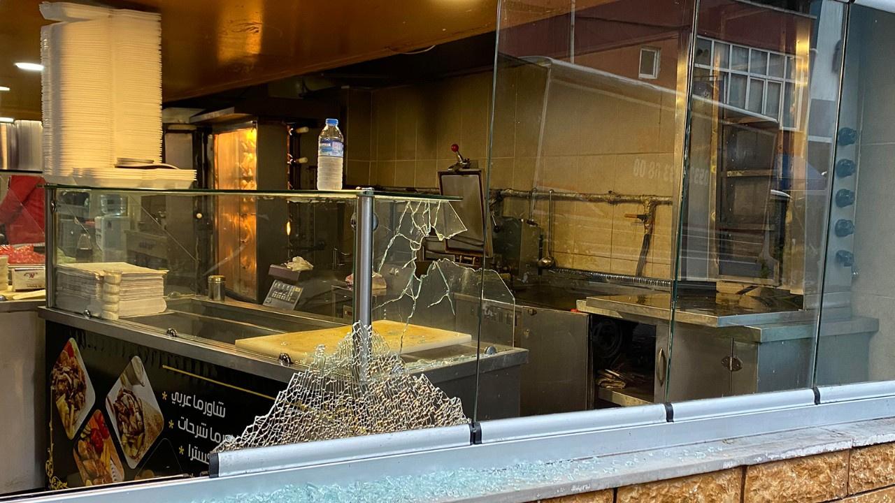 Beyoğlu'nda lokantaya silahlı saldırı