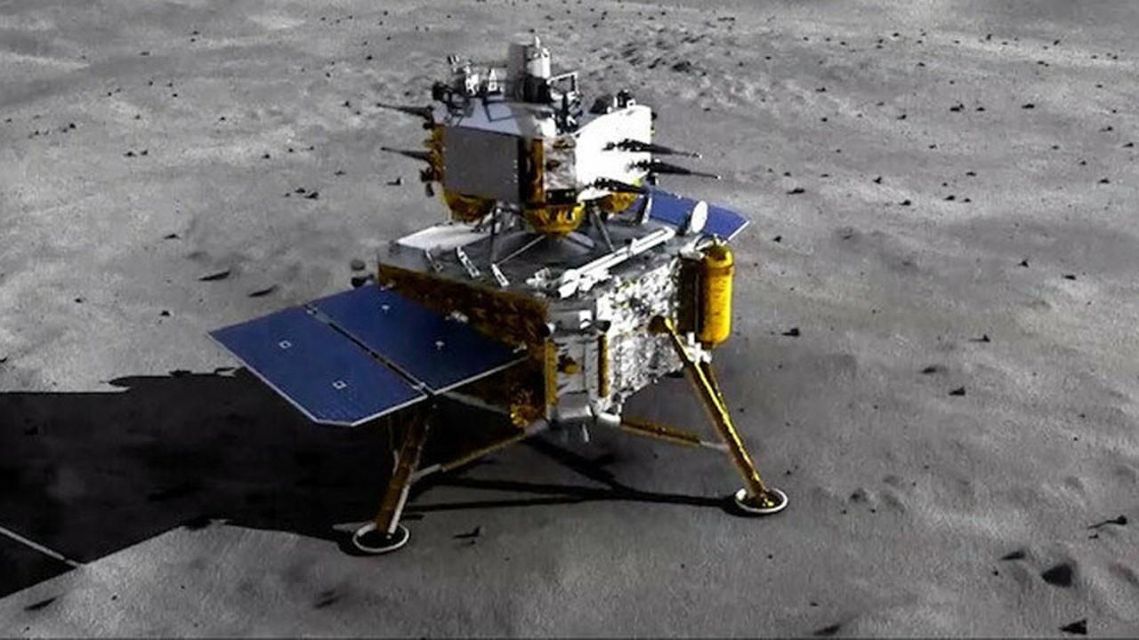 Çin'in uzay aracı numunelerle Dünya'ya döndü