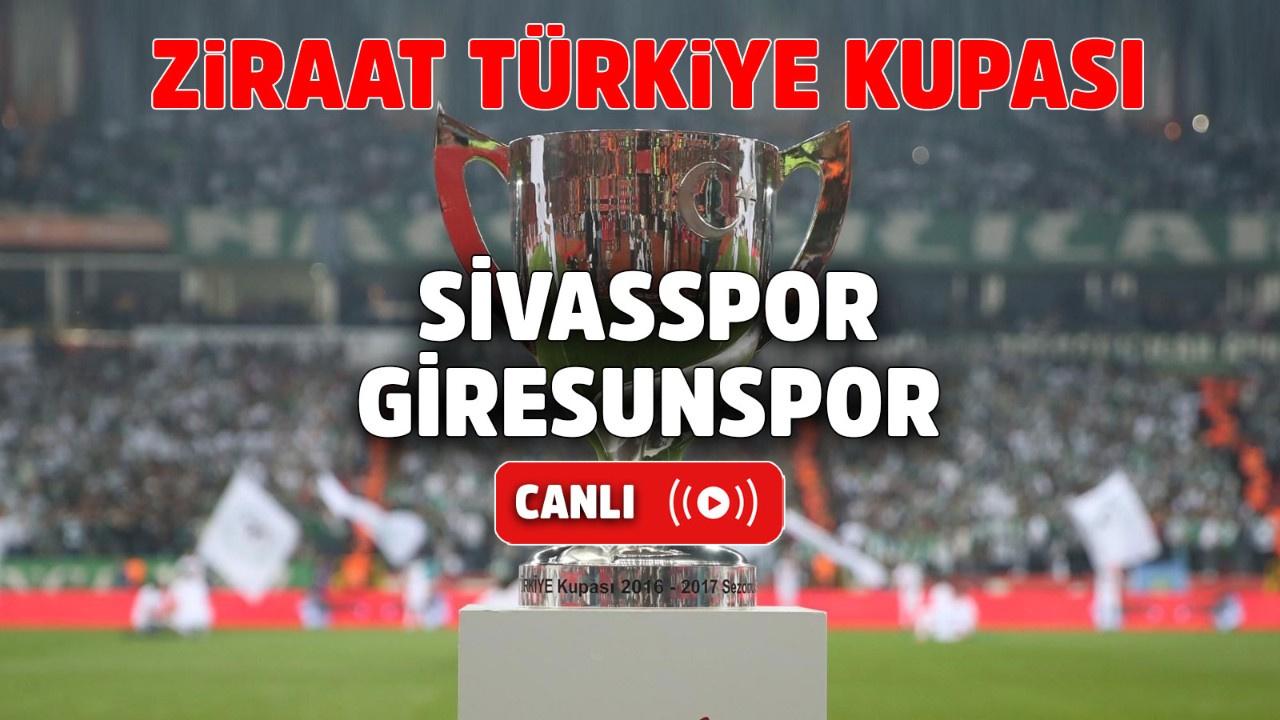 Sivasspor – Giresunspor Canlı