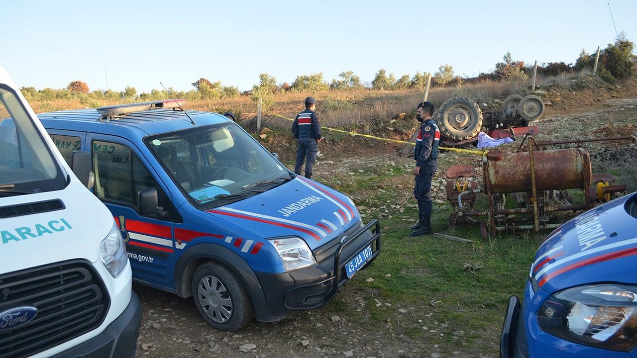 Koronayı yendi, traktör devrildi öldü