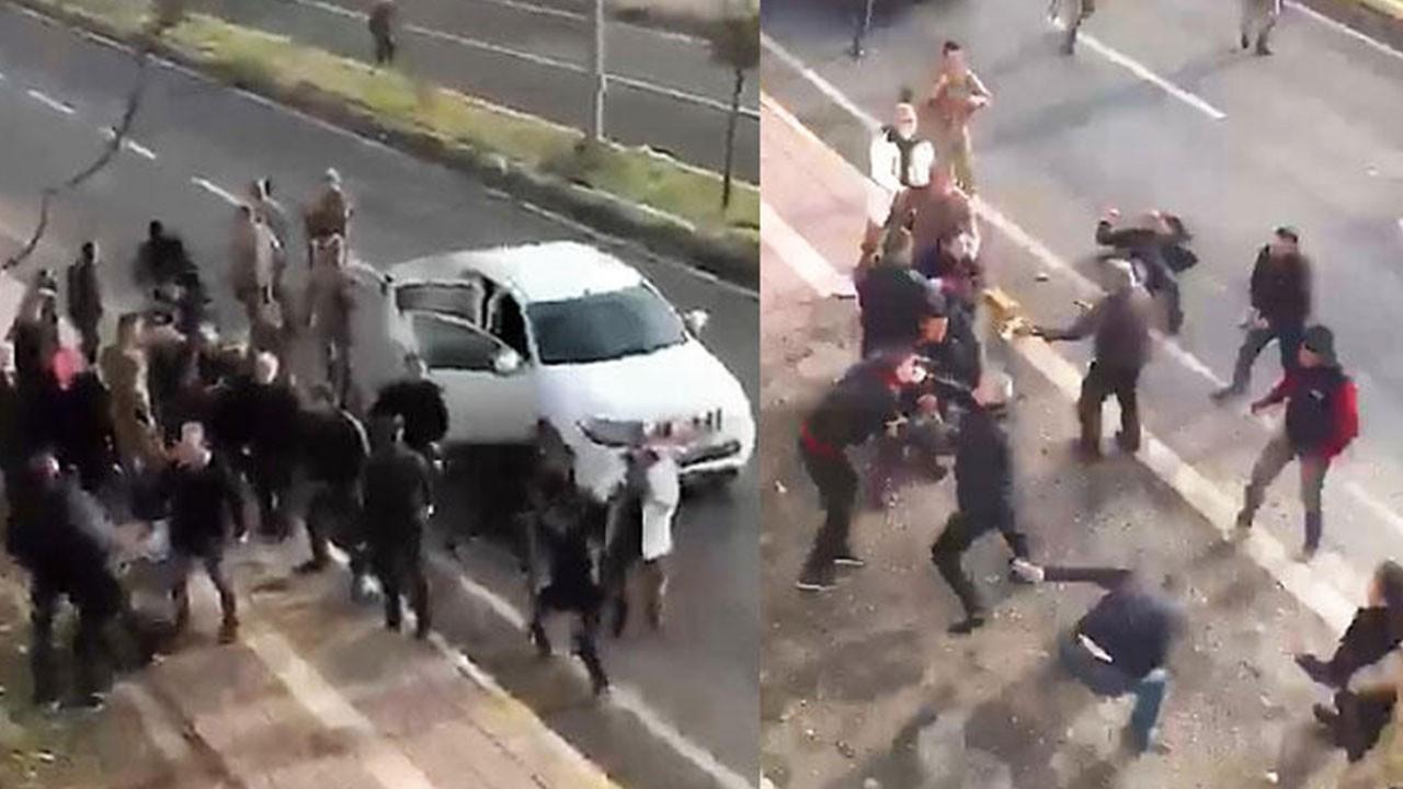 Taşlı, sopalı, silahlı kavga: 2 yaralı, 4 gözaltı