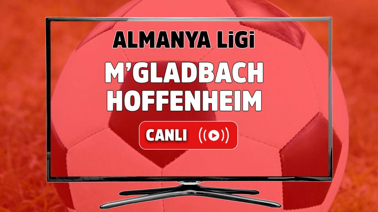 M'gladbach – Hoffenheim Canlı