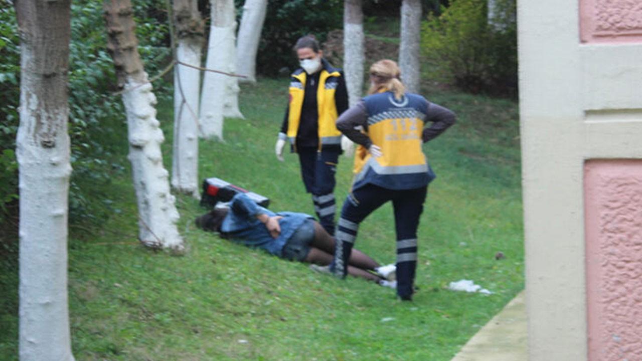 Polis baskınında şaşkına çeviren anlar!