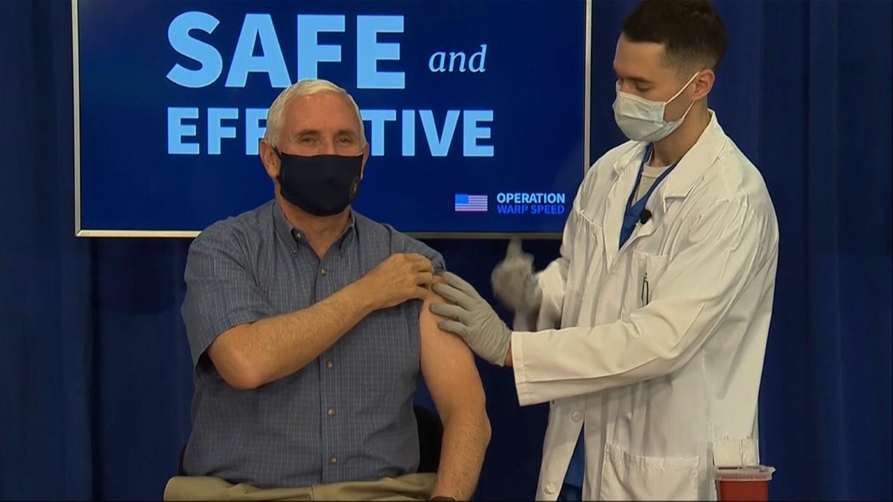 ABD Başkan Yardımcısı Pence canlı yayında aşı oldu