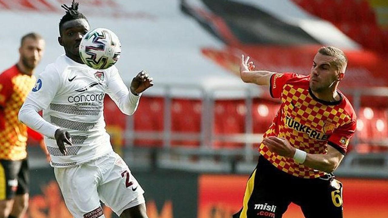 Hatayspor, Göztepe'yi deplasmanda 1-0 yendi