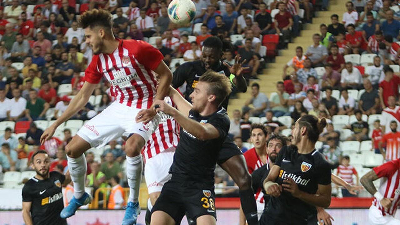 Antalyaspor, Kayserispor'u ağırlayacak