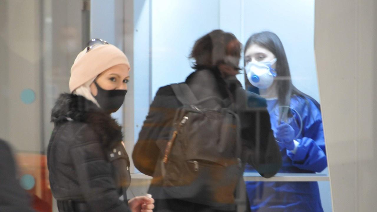 Londra'dan gelen yolculara PCR testi