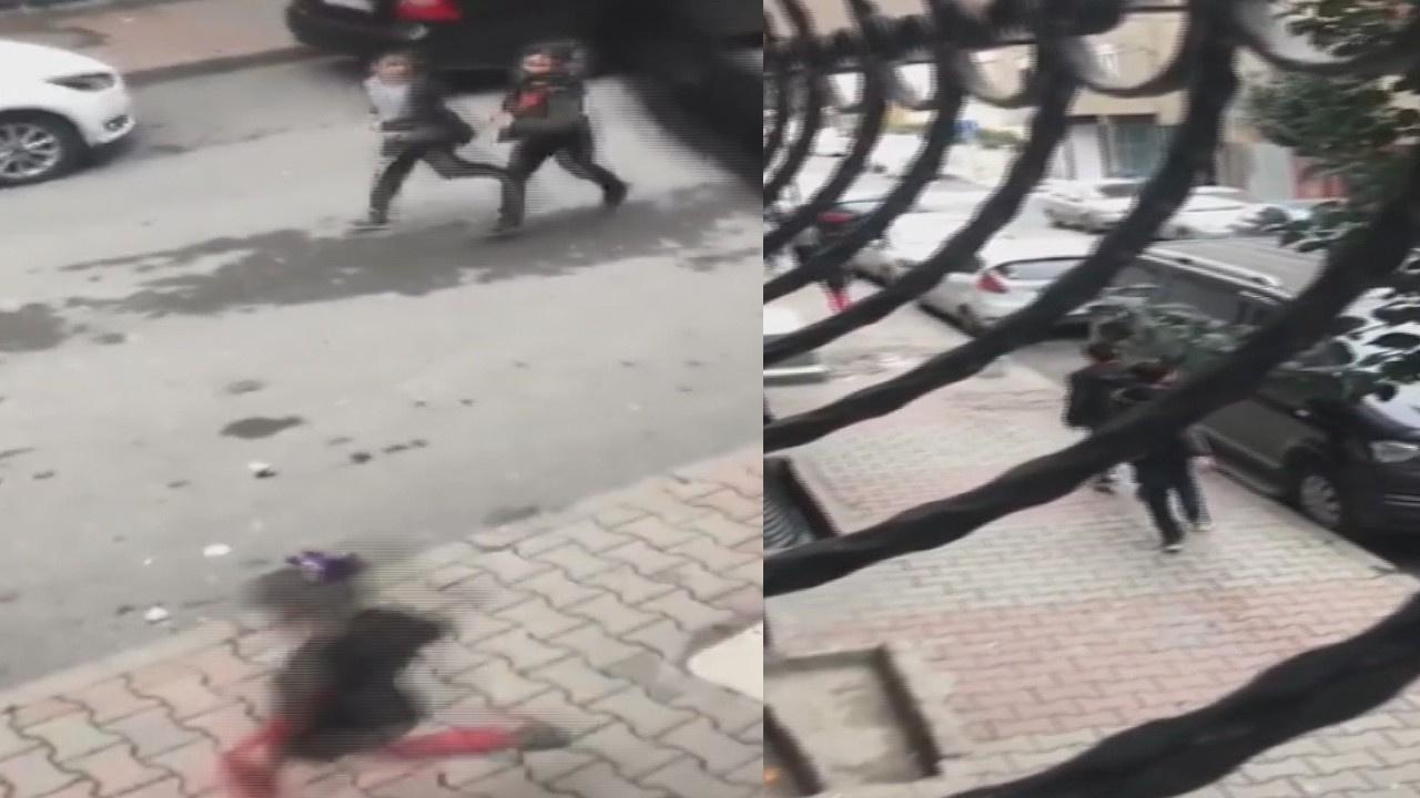 Polis sireniyle korkutarak evlerine soktu