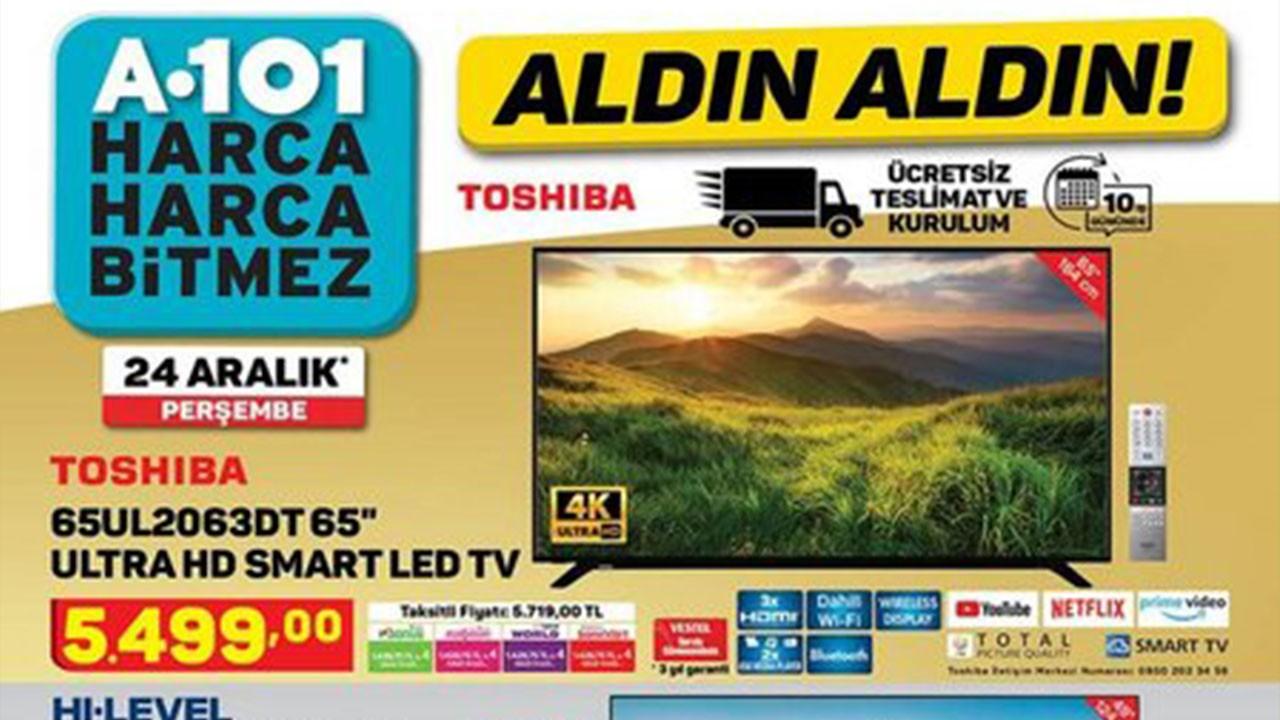 A101 30 Aralık Aktüel ürünler kataloğu!