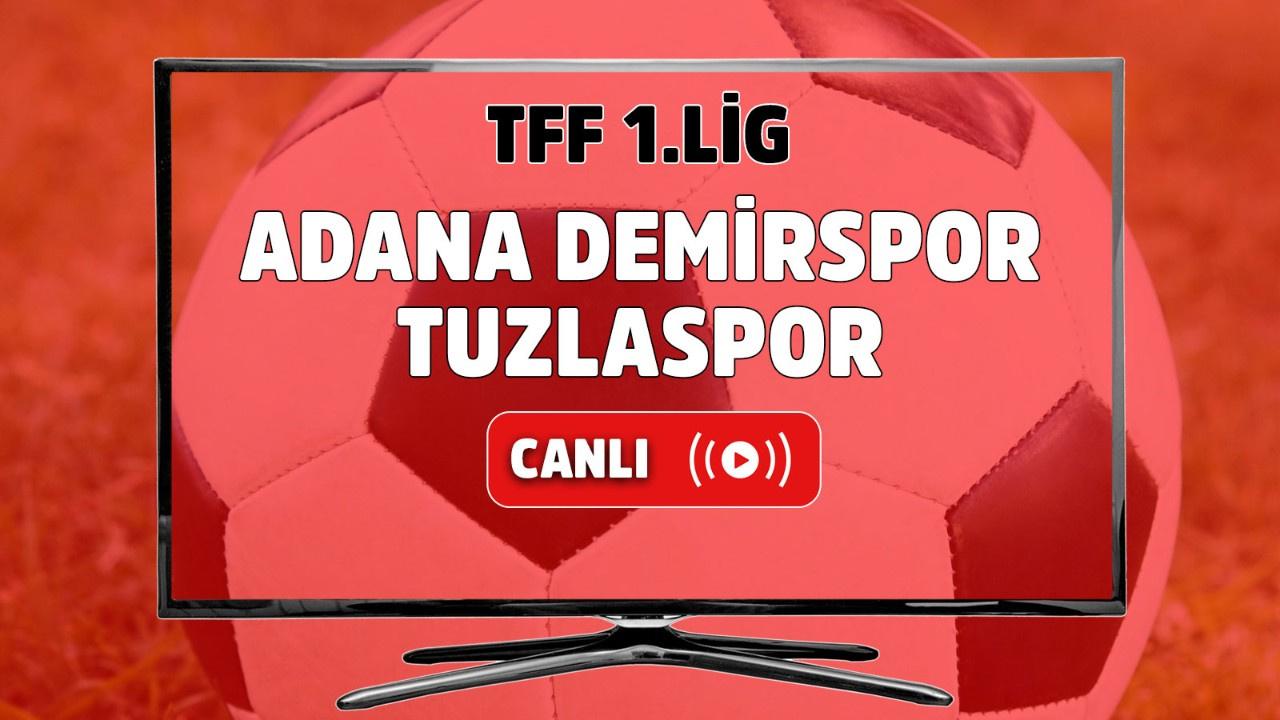 Adana Demirspor – Tuzlaspor Canlı