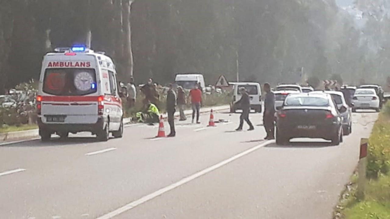 İngiliz turist polise çarptı: Durumu ağır