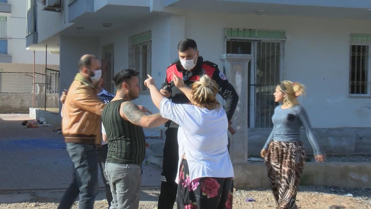 Akraba 2 aile arasında pompalı tüfekli kavga
