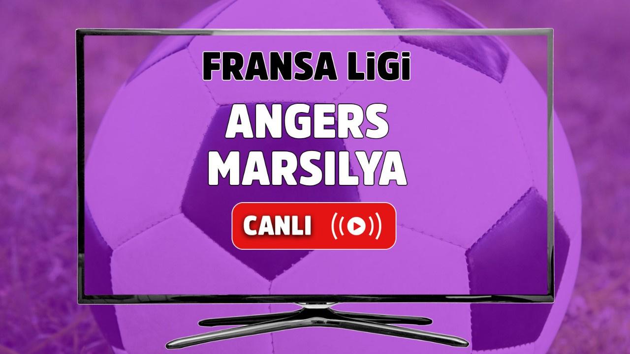 Angers- Marsilya Canlı