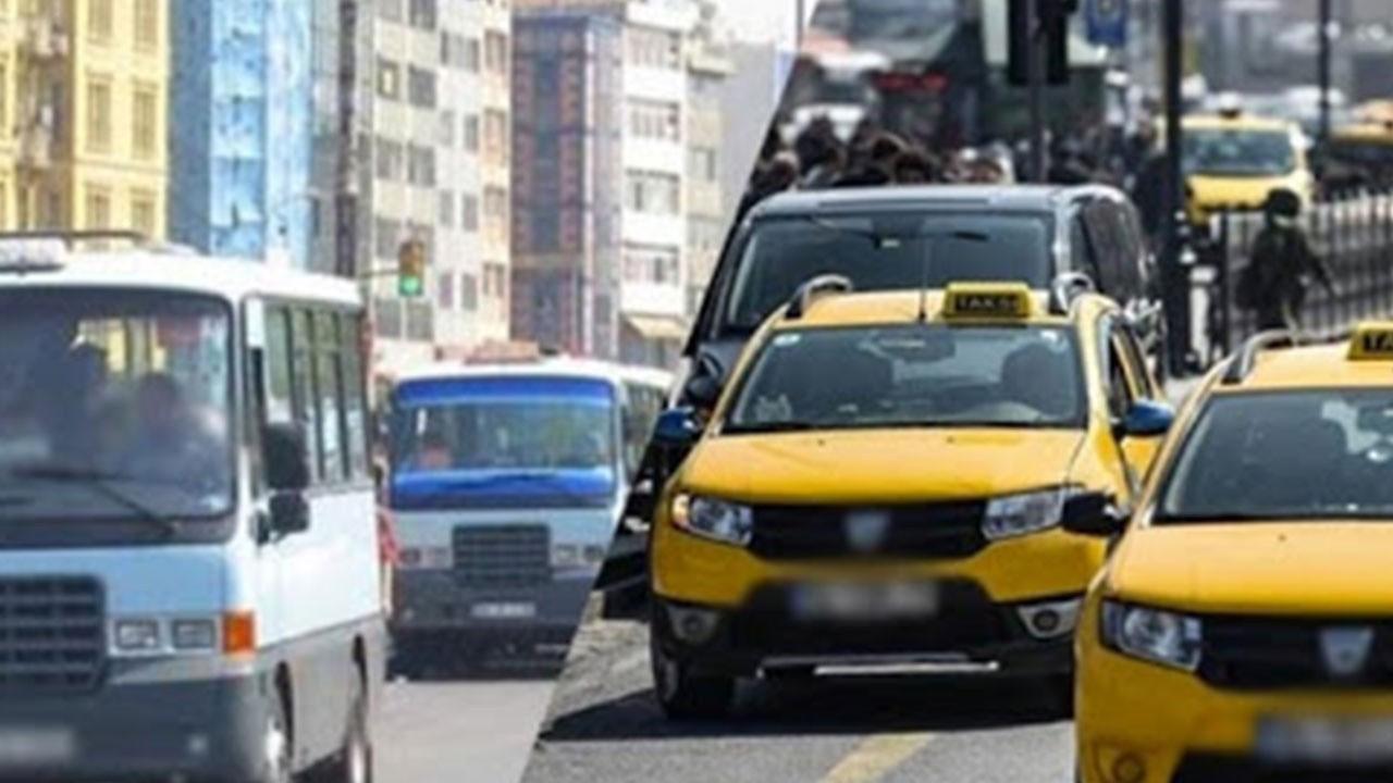 Taksi, minibüs ve dolmuşa zam!